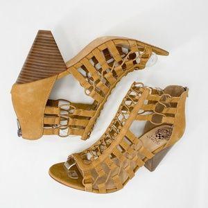 Vince Camuto Elanso Caged Sandal Size 11
